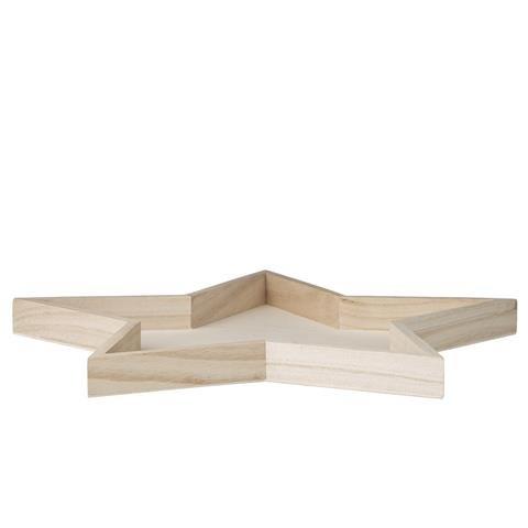 bloomingville deko tablett stern skandinavische m bel. Black Bedroom Furniture Sets. Home Design Ideas