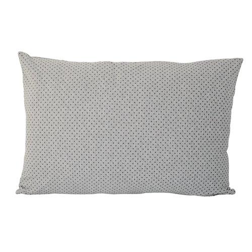 bloomingville kissen dots grau skandinavische m bel. Black Bedroom Furniture Sets. Home Design Ideas