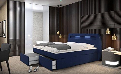 boxspringbett m1 skandinavische m bel. Black Bedroom Furniture Sets. Home Design Ideas
