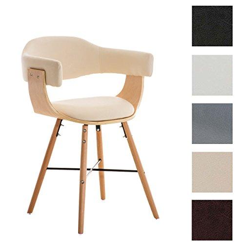 clp besucherstuhl barrie v2 natura mit armlehne sitzfl che gut gepolstert holzgestell. Black Bedroom Furniture Sets. Home Design Ideas