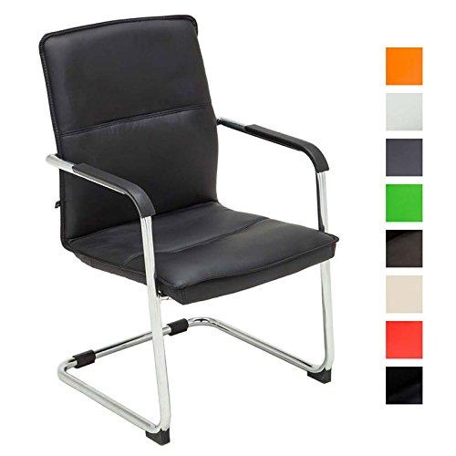 clp freischwinger stuhl mit armlehne seattle besucherstuhl konferenzstuhl gepolstert. Black Bedroom Furniture Sets. Home Design Ideas