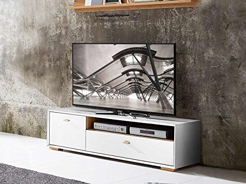 lowboard tv lowboard fermsehtisch kommode sideboard schrank eiche navarra pinie wei. Black Bedroom Furniture Sets. Home Design Ideas