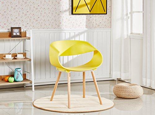 P N Homewares Nest Stuhl Kunststoff Retro Modernen
