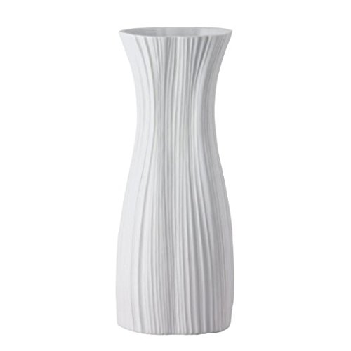 rosenthal plissee vase wei matt h he 38 cm. Black Bedroom Furniture Sets. Home Design Ideas