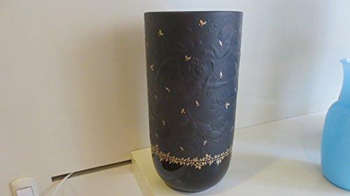 rosenthal vase flautomagico schwarz c bl tter gold cm 21 skandinavische m bel. Black Bedroom Furniture Sets. Home Design Ideas
