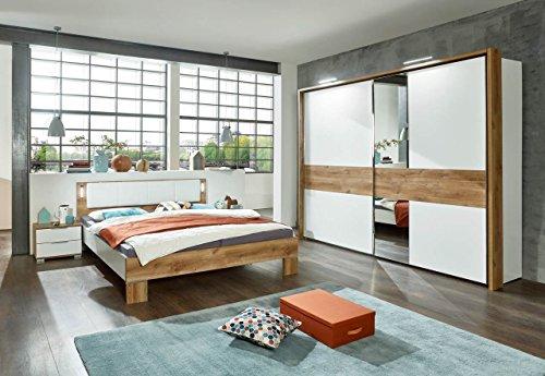 Schlafzimmer, Schlafzimmermöbel, Komplettset, Bett, Schrank,  Kleiderschrank, Schwebetürenschrank, 2...