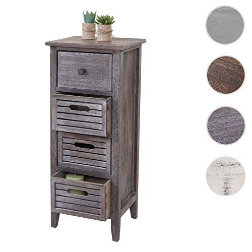 schrank kommode 74x30x25cm shabby look vintage skandinavische m bel. Black Bedroom Furniture Sets. Home Design Ideas
