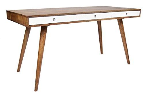 Schreibtisch oder Esstisch Retro Oslo Sheesham 150 Massivholz
