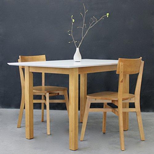set scandi vitra fsc n002524 pinienholz langer naturholzm bel sitzgruppe esszimmer massivholz. Black Bedroom Furniture Sets. Home Design Ideas