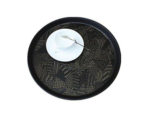 tray rundes tablett europ ischer teebrett slip hotelfach tablett tablett skandinavische m bel. Black Bedroom Furniture Sets. Home Design Ideas