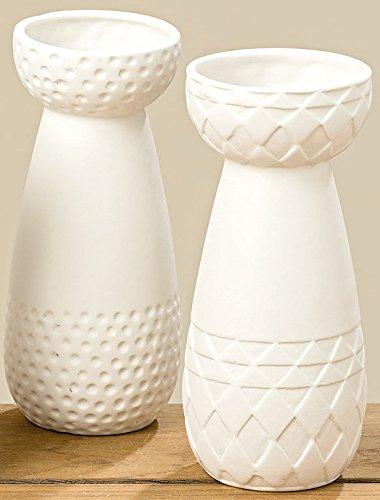 vase porzellan 2er set wei 15 cm blumenvase skandinavische m bel. Black Bedroom Furniture Sets. Home Design Ideas