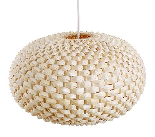 wohnzimmerlampe vung tau lampen aus bananenblatt als h ngelampe innenbeleuchtung und. Black Bedroom Furniture Sets. Home Design Ideas