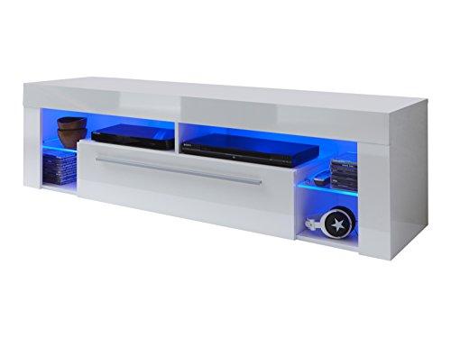 trendteam sc85001 tv m bel lowboard skandinavische m bel. Black Bedroom Furniture Sets. Home Design Ideas