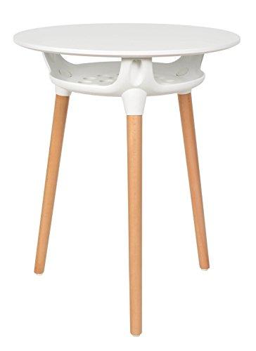 Ts ideen design esszimmer tisch beistelltisch bistrotisch for Beistelltisch rund 60 cm