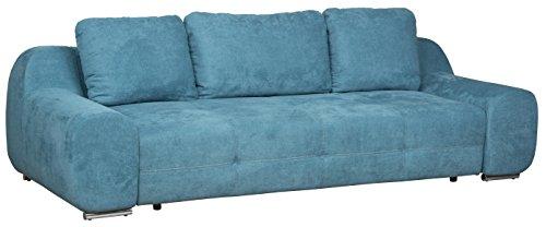 Cavadore 5158 Big Sofa Benderes, 266 x 70 x 102 cm, Kati türkis