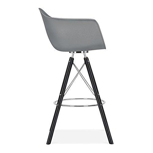 cult design moda barhocker mit armlehne cd3 grau 0 12 skandinavische m bel. Black Bedroom Furniture Sets. Home Design Ideas