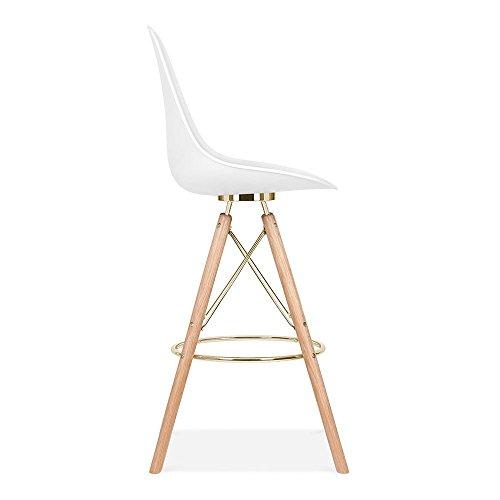 cult design moda barhocker mit r ckenlehne cd3 wei. Black Bedroom Furniture Sets. Home Design Ideas