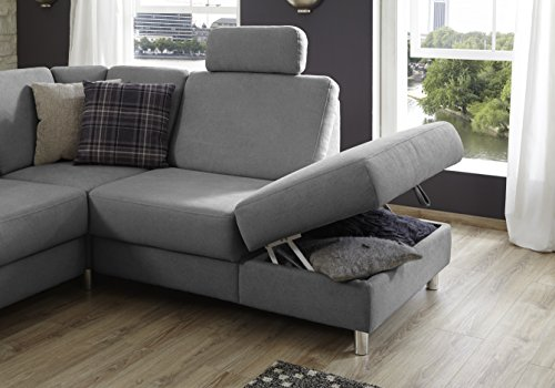 federkern couch winstono polsterecke mit schlaffunktion stauraum und relaxfunktion longchair. Black Bedroom Furniture Sets. Home Design Ideas