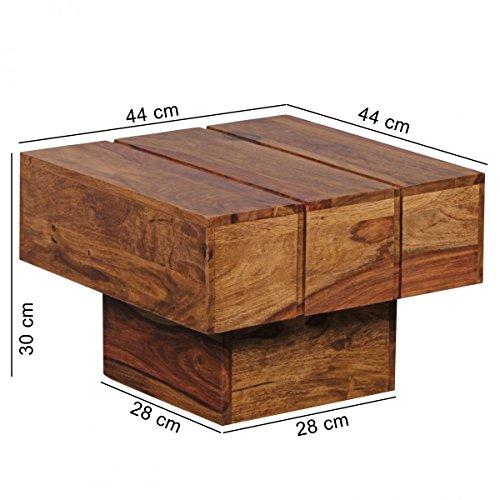 finebuy couchtisch viereckig massivholz design. Black Bedroom Furniture Sets. Home Design Ideas