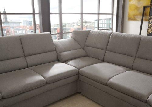 polsterecke gingle 3er bett spitzecke mit relaxfunktion 2er abschlussottomane 260x89x240 cm toro. Black Bedroom Furniture Sets. Home Design Ideas