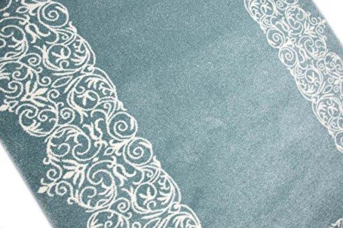 teppich traum designerteppich moderner teppich wohnzimmerteppich kurzflor teppich mit bordre. Black Bedroom Furniture Sets. Home Design Ideas