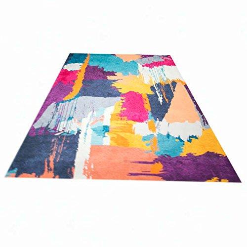 teppich traum designerteppich moderner teppich wohnzimmerteppich orientteppich bunt in lila. Black Bedroom Furniture Sets. Home Design Ideas