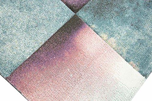 teppich traum designerteppich moderner teppich f r wohnzimmer kurzflor teppich bunt modern in