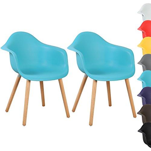 woltu bh37bl 2 esszimmerst hle 2er set esszimmerstuhl mit lehne design stuhl k chenstuhl holz. Black Bedroom Furniture Sets. Home Design Ideas