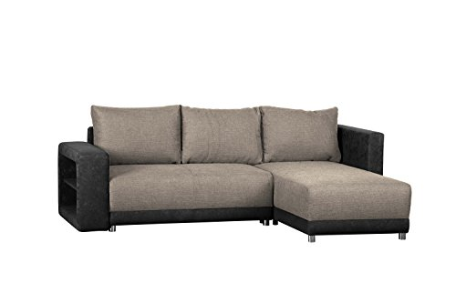 wohnlandschaft l form ohne federkern sofa mit. Black Bedroom Furniture Sets. Home Design Ideas