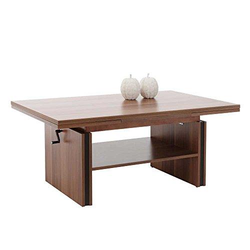 wohnzimmer couchtisch in zwetschge ausziehbar und h henverstellbar pharao24 skandinavische m bel. Black Bedroom Furniture Sets. Home Design Ideas