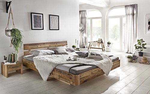 woodkings bett 180x200 hampden doppelbett recycelte pinie schlafzimmer massivholz design. Black Bedroom Furniture Sets. Home Design Ideas