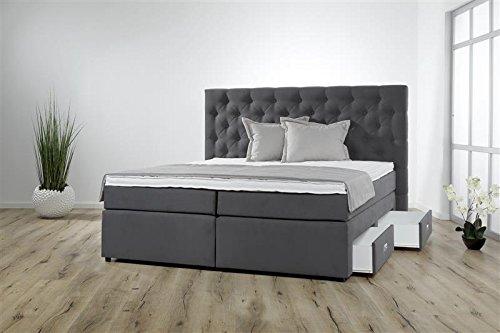 breckle boxspringbett 100 x 200 cm lerche box miodormio tfk 1000 formschaummatratze my balance. Black Bedroom Furniture Sets. Home Design Ideas