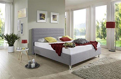 breckle polsterbett bett 160 x 200 cm melbourne bavaria 28 cm h he st rke 6 cm b ndig leder. Black Bedroom Furniture Sets. Home Design Ideas