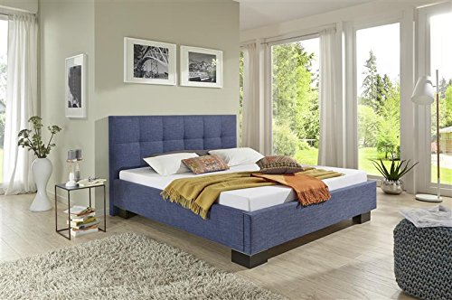 breckle polsterbett bett 140 x 200 cm steere comfort 38 cm h he st rke 3 cm berstehend textil. Black Bedroom Furniture Sets. Home Design Ideas