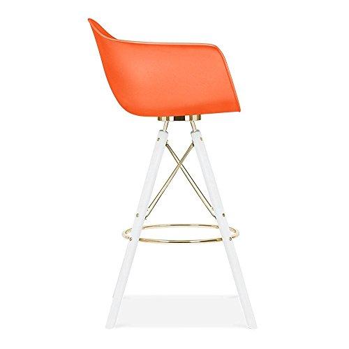 cult design moda barhocker mit armlehne cd3 orange. Black Bedroom Furniture Sets. Home Design Ideas