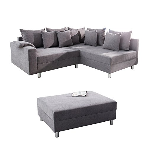 sofa 3 sitzer mit hocker ewald schillig florenz ecksofa. Black Bedroom Furniture Sets. Home Design Ideas