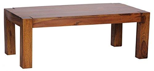 finebuy couchtisch massiv holz sheesham 110 cm breit wohnzimmer tisch design dunkel braun. Black Bedroom Furniture Sets. Home Design Ideas