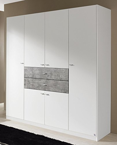 rauch a9j19 3l14 kleiderschrank landsberg 6 t rig b. Black Bedroom Furniture Sets. Home Design Ideas