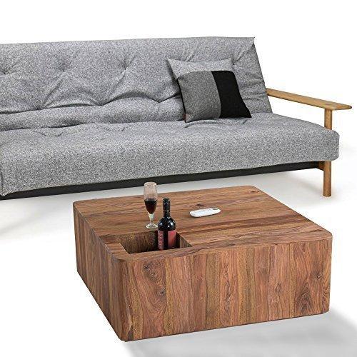 lounge zone sheesham couchtisch kaffeetisch wohnzimmertisch sofatisch wohnzimmer beistelltisch. Black Bedroom Furniture Sets. Home Design Ideas
