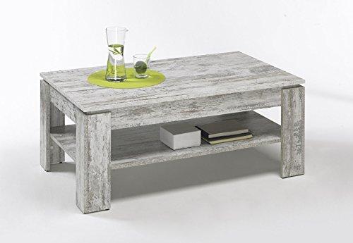 trendteam ct couchtisch wohnzimmertisch pinie wei shabby chic 110 x 65 x 47 cm 0 0. Black Bedroom Furniture Sets. Home Design Ideas