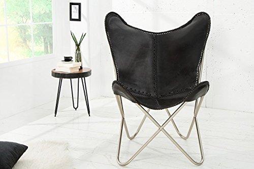 Dunord design butterfly sessel stuhl texas echtleder for Dunord design stuhl verona