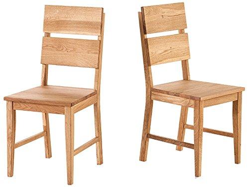 holzstuhl k chenstuhl stuhl esszimmerstuhl viefu massivholz maxiv i 2er set wildeiche. Black Bedroom Furniture Sets. Home Design Ideas