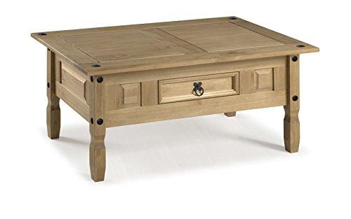 mercers furniture corona couchtisch holz antique wax 100 x 60 x 45 cm skandinavische m bel. Black Bedroom Furniture Sets. Home Design Ideas