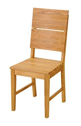 sam esszimmerstuhl christian aus massiver wildeiche ge lter holzstuhl in braun stuhl mit. Black Bedroom Furniture Sets. Home Design Ideas