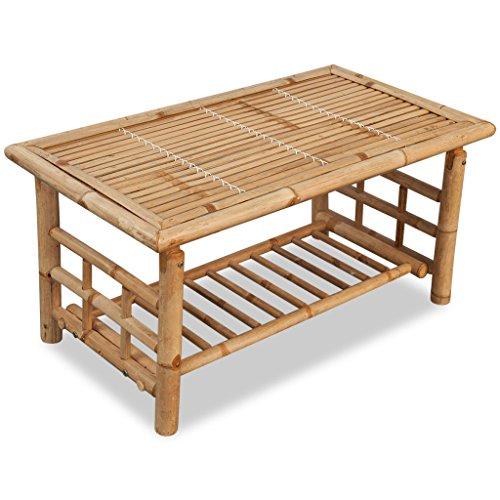 Vidaxl couchtisch beistelltisch kaffeetisch wohnzimmer for Couchtisch bambus