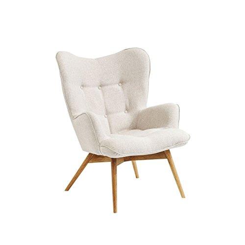sessel vicky ecru kare design 1 skandinavische m bel. Black Bedroom Furniture Sets. Home Design Ideas
