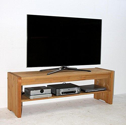 massivholz sitzbank 140cm kiefer lowboard k chenbank gelaugt ge lt skandinavische m bel. Black Bedroom Furniture Sets. Home Design Ideas