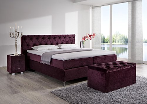 designer boxspringbett in standardgr e 180x200. Black Bedroom Furniture Sets. Home Design Ideas