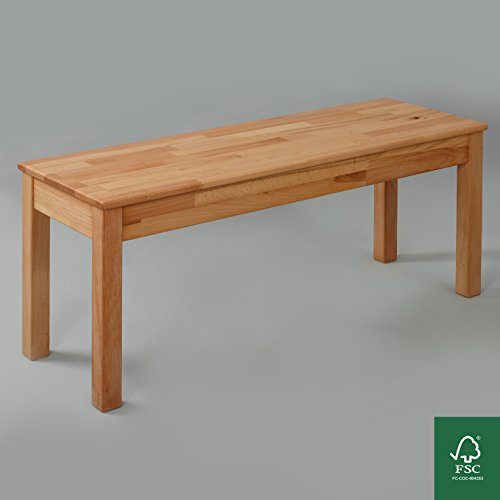 Sitzbank Buche FSC 100% Tomas 105x35x45 cm