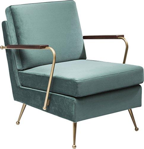 kare 80751 sessel polyester gr n 54 6 x 80 5 x 72 cm skandinavische m bel. Black Bedroom Furniture Sets. Home Design Ideas